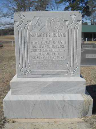 COLVIN, EMMETT H - Lincoln County, Louisiana   EMMETT H COLVIN - Louisiana Gravestone Photos