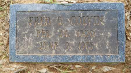 COLVIN, FRED B - Lincoln County, Louisiana | FRED B COLVIN - Louisiana Gravestone Photos