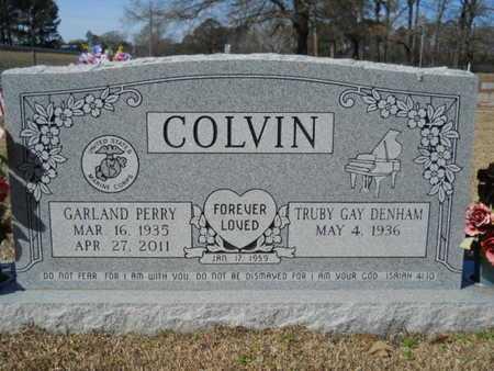 COLVIN, GARLAND PERRY - Lincoln County, Louisiana   GARLAND PERRY COLVIN - Louisiana Gravestone Photos