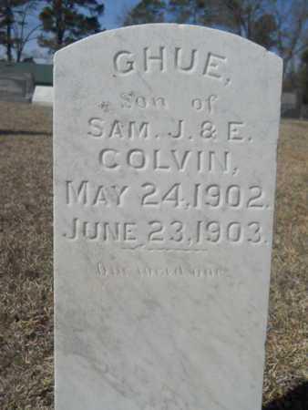COLVIN, GHUE - Lincoln County, Louisiana   GHUE COLVIN - Louisiana Gravestone Photos