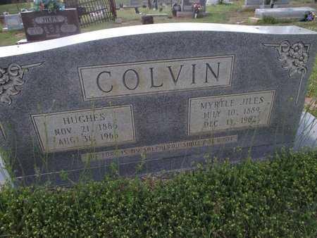 COLVIN, HUGHES - Lincoln County, Louisiana   HUGHES COLVIN - Louisiana Gravestone Photos