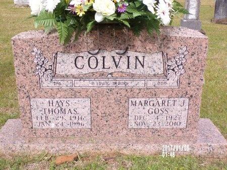 COLVIN, MARGARET J - Lincoln County, Louisiana | MARGARET J COLVIN - Louisiana Gravestone Photos