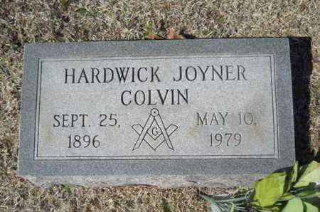 COLVIN, HARDWICK JOYNER - Lincoln County, Louisiana   HARDWICK JOYNER COLVIN - Louisiana Gravestone Photos