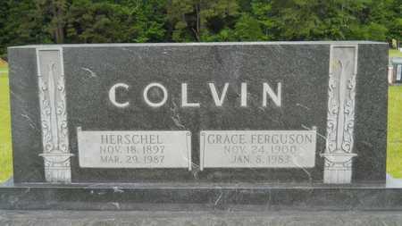 COLVIN, GRACE - Lincoln County, Louisiana | GRACE COLVIN - Louisiana Gravestone Photos