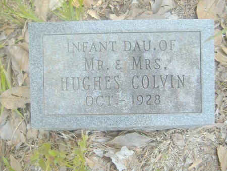 COLVIN, INFANT DAUGHTER - Lincoln County, Louisiana   INFANT DAUGHTER COLVIN - Louisiana Gravestone Photos