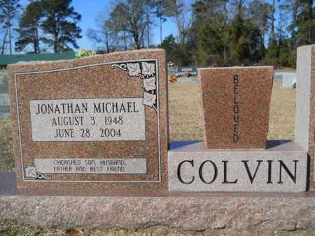 COLVIN, JONATHAN MICHAEL - Lincoln County, Louisiana | JONATHAN MICHAEL COLVIN - Louisiana Gravestone Photos