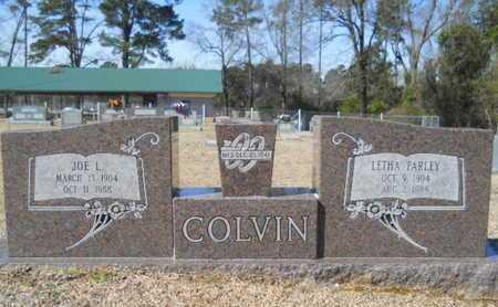 COLVIN, JOE L - Lincoln County, Louisiana | JOE L COLVIN - Louisiana Gravestone Photos