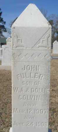 COLVIN, JOHN FULLER - Lincoln County, Louisiana | JOHN FULLER COLVIN - Louisiana Gravestone Photos