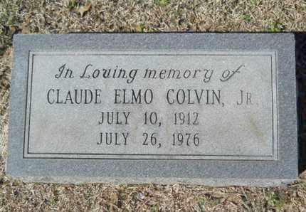 COLVIN, CLAUDE ELMO, JR - Lincoln County, Louisiana | CLAUDE ELMO, JR COLVIN - Louisiana Gravestone Photos