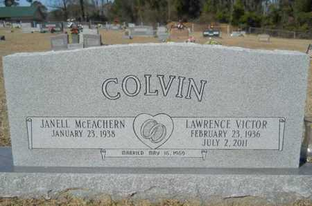 COLVIN, LAWRENCE VICTOR - Lincoln County, Louisiana | LAWRENCE VICTOR COLVIN - Louisiana Gravestone Photos