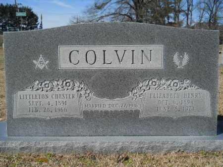 COLVIN, LITTLETON CHESTER - Lincoln County, Louisiana | LITTLETON CHESTER COLVIN - Louisiana Gravestone Photos