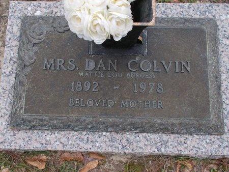 COLVIN, MATTIE LOU - Lincoln County, Louisiana | MATTIE LOU COLVIN - Louisiana Gravestone Photos