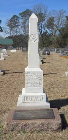 COLVIN, M T - Lincoln County, Louisiana | M T COLVIN - Louisiana Gravestone Photos