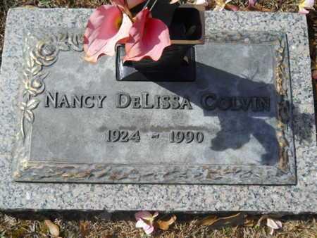 COLVIN, NANCY DELISSA - Lincoln County, Louisiana | NANCY DELISSA COLVIN - Louisiana Gravestone Photos