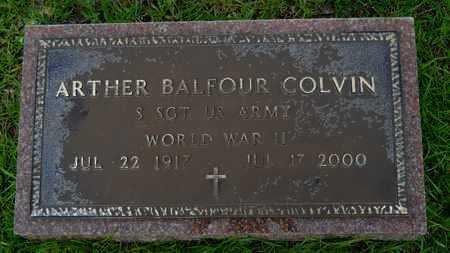 COLVIN, ARTHER BALFOUR (VETERAN WWII) - Lincoln County, Louisiana | ARTHER BALFOUR (VETERAN WWII) COLVIN - Louisiana Gravestone Photos