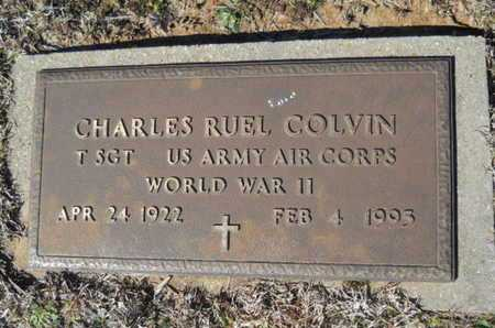 COLVIN, CHARLES RUEL (VETERAN WWII) - Lincoln County, Louisiana | CHARLES RUEL (VETERAN WWII) COLVIN - Louisiana Gravestone Photos