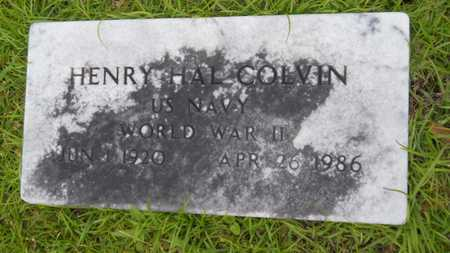 COLVIN, HENRY HAL (VETERAN WWII) - Lincoln County, Louisiana | HENRY HAL (VETERAN WWII) COLVIN - Louisiana Gravestone Photos