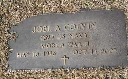 COLVIN, JOEL A (VETERAN WWII) - Lincoln County, Louisiana | JOEL A (VETERAN WWII) COLVIN - Louisiana Gravestone Photos