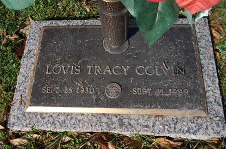 COLVIN, LOVIS TRACY (VETERAN) - Lincoln County, Louisiana | LOVIS TRACY (VETERAN) COLVIN - Louisiana Gravestone Photos