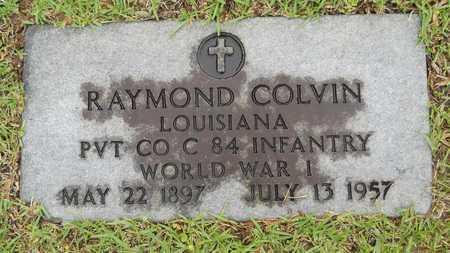 COLVIN, RAYMOND (VETERAN WWI) - Lincoln County, Louisiana | RAYMOND (VETERAN WWI) COLVIN - Louisiana Gravestone Photos