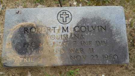 COLVIN, ROBERT M (VETERAN WWII) - Lincoln County, Louisiana | ROBERT M (VETERAN WWII) COLVIN - Louisiana Gravestone Photos