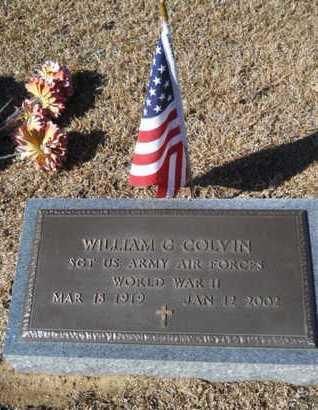 COLVIN, WILLIAM C (VETERAN WWII) - Lincoln County, Louisiana | WILLIAM C (VETERAN WWII) COLVIN - Louisiana Gravestone Photos