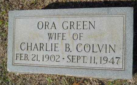 COLVIN, ORA - Lincoln County, Louisiana | ORA COLVIN - Louisiana Gravestone Photos