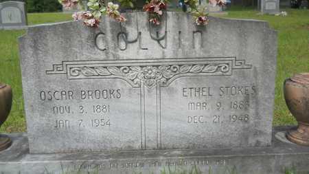 COLVIN, OSCAR BROOKS - Lincoln County, Louisiana   OSCAR BROOKS COLVIN - Louisiana Gravestone Photos