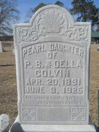 COLVIN, PEARL - Lincoln County, Louisiana   PEARL COLVIN - Louisiana Gravestone Photos