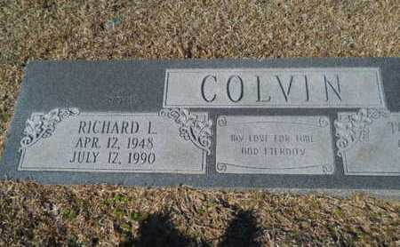 COLVIN, RICHARD L - Lincoln County, Louisiana | RICHARD L COLVIN - Louisiana Gravestone Photos