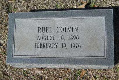COLVIN, RUEL - Lincoln County, Louisiana | RUEL COLVIN - Louisiana Gravestone Photos