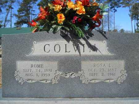 COLVIN, ROME - Lincoln County, Louisiana | ROME COLVIN - Louisiana Gravestone Photos