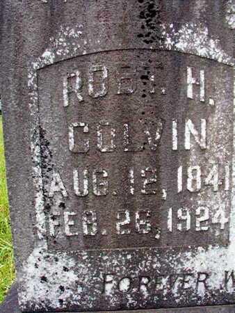 COLVIN, ROBERT H (CLOSE UP) - Lincoln County, Louisiana | ROBERT H (CLOSE UP) COLVIN - Louisiana Gravestone Photos