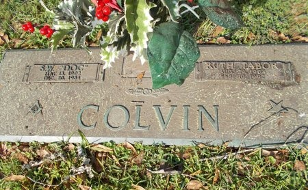 COLVIN, RUTH - Lincoln County, Louisiana | RUTH COLVIN - Louisiana Gravestone Photos