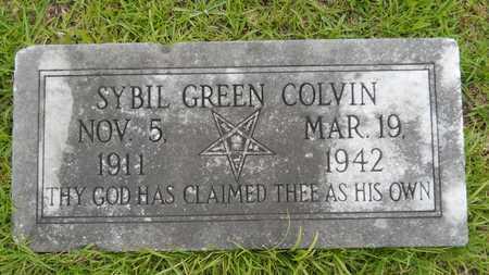 COLVIN, SYBIL - Lincoln County, Louisiana | SYBIL COLVIN - Louisiana Gravestone Photos