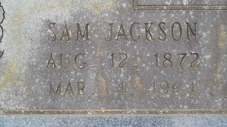 COLVIN, SAM JACKSON (CLOSE UP) - Lincoln County, Louisiana   SAM JACKSON (CLOSE UP) COLVIN - Louisiana Gravestone Photos
