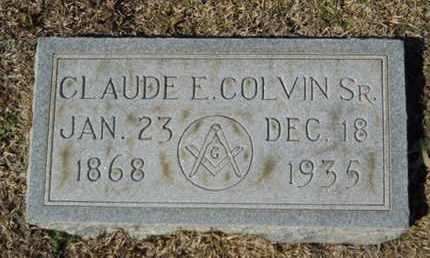 COLVIN, CLAUDE E. SR - Lincoln County, Louisiana | CLAUDE E. SR COLVIN - Louisiana Gravestone Photos