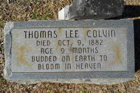 COLVIN, THOMAS LEE - Lincoln County, Louisiana | THOMAS LEE COLVIN - Louisiana Gravestone Photos