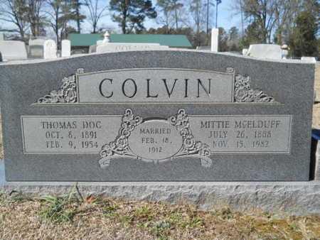 COLVIN, MITTIE - Lincoln County, Louisiana | MITTIE COLVIN - Louisiana Gravestone Photos