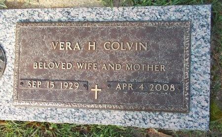 COLVIN, VERA H - Lincoln County, Louisiana | VERA H COLVIN - Louisiana Gravestone Photos