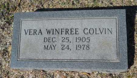 COLVIN, VERA - Lincoln County, Louisiana | VERA COLVIN - Louisiana Gravestone Photos