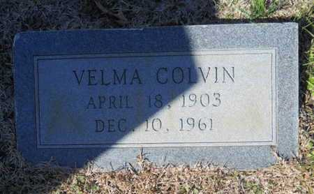 COLVIN, VELMA - Lincoln County, Louisiana | VELMA COLVIN - Louisiana Gravestone Photos