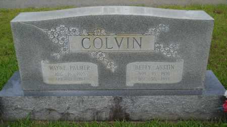 COLVIN, BETTY - Lincoln County, Louisiana | BETTY COLVIN - Louisiana Gravestone Photos