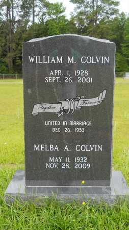 COLVIN, WILLIAM M - Lincoln County, Louisiana | WILLIAM M COLVIN - Louisiana Gravestone Photos