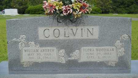 COLVIN, WILLIAM ANDREW - Lincoln County, Louisiana | WILLIAM ANDREW COLVIN - Louisiana Gravestone Photos