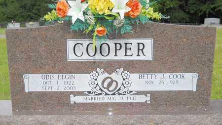 COOPER, ODIS ELGIN - Lincoln County, Louisiana | ODIS ELGIN COOPER - Louisiana Gravestone Photos