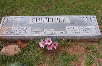 CULPEPPER, VALLENE - Lincoln County, Louisiana | VALLENE CULPEPPER - Louisiana Gravestone Photos