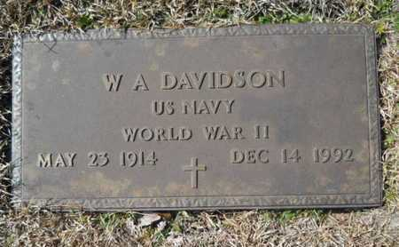 DAVIDSON, W A (VETERAN WWII) - Lincoln County, Louisiana | W A (VETERAN WWII) DAVIDSON - Louisiana Gravestone Photos