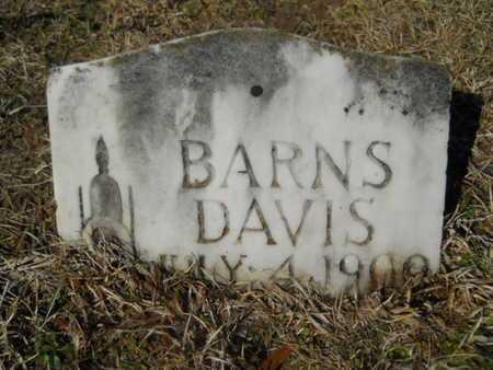 DAVIS, BARNS - Lincoln County, Louisiana   BARNS DAVIS - Louisiana Gravestone Photos