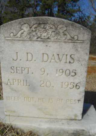 DAVIS, J D - Lincoln County, Louisiana | J D DAVIS - Louisiana Gravestone Photos